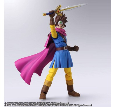 Dragon Quest III The Seeds of Salvation Bring Arts Action Figure Hero 14 cm