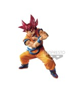 Dragonball GT Blood of Saiyans PVC Statue Super Saiyan God Son Goku 17 cm