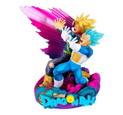 Dragonball Super Super Master Stars Piece Figure Vegeta & Trunks Special Color Version 18 cm