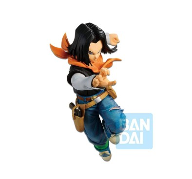 Dragonball Z PVC The Android Battle Statue Android 17