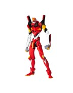 Evangelion Revoltech Action Figure EV-005S EVA Unit 02 New Packaging Ver. 14 cm