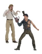 Evil Dead 2 Action Figures 2-Pack Hero Ash & Evil Ed 30th Anniversary 18 cm