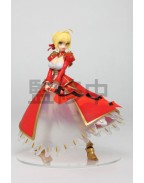 Fate/Extra Last Encore PVC Statue Saber of Red Nero (Game-prize) 18 cm