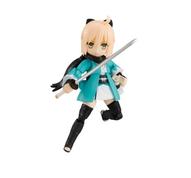 Fate/Grand Order Desktop Army Figures 8 cm Vol.3 (Souji Okita)