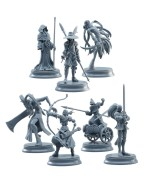 Fate/Stay Night 15th Celebration Project Trading Figure 8-Pack Servant Classes 7 cm
