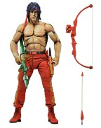 NECA First Blood Part II Classic Video Game Rambo Action Figure 18 cm