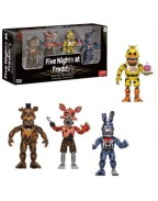 Five Nights at Freddy's Action Figures 4-Pack Nightmare 5 cm