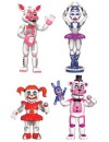 Five Nights at Freddy's Action Figures 4-Pack Sister Location 5 cm