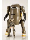 Frame Arms Girl Plastic Model Kit Handscale Girl Gourai with MechatroWeGo Brown 13 cm