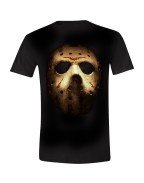 Friday the 13th - Jason's Mask Men T-Shirt - Black, Size L, XL