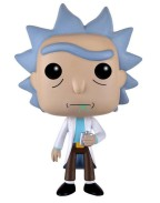 Funko POP! Animation - Rick and Morty Rick Vinyl Figure 10cm
