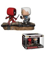 Funko POP! Marvel: Movie Moments: Deadpool vs Cable - 2-Pack Vinyl Figures