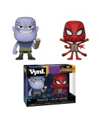 Funko Vynl. Avengers: Infinity War - Thanos & Iron Spider 2-Pack Action Figures 10cm