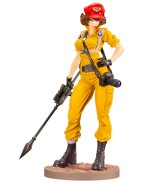 G.I. Joe Bishoujo PVC Statue 1/7 Lady Jaye Canary Ann Color Version 23 cm