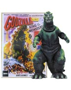 Godzilla Head to Tail Action Figure 1956 Godzilla US Movie Poster Version 30 cm