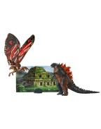 Godzilla King of the Monsters Matchups Action Figurina Fire Godzilla & Mothra 9 cm