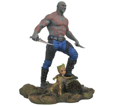 Guardians of the Galaxy Vol. 2 Marvel Gallery PVC Statue Drax & Baby Groot 25 cm