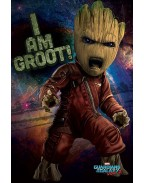 Guardians of the Galaxy Vol. 2 Poster Angry Groot 61 x 91 cm