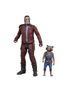 Guardians of the Galaxy Marvel Select Action Figure Star-Lord & Rocket Raccoon 18 cm