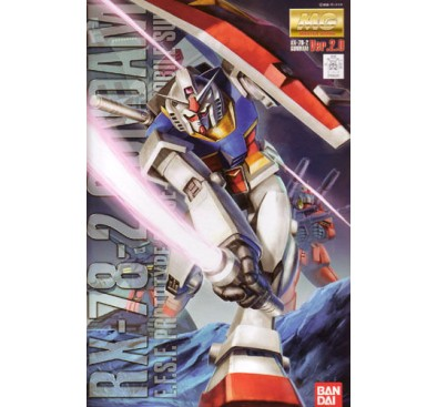Gundam RX-78-2 VER 2.0 (MG) 1/100 (model kit)
