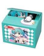 Hatsune Miku GT Project PVC Talking Coin Bank Racing Miku 2019 Ver. Chatting Bank 001 12 cm