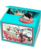 Hatsune Miku GT Project PVC Talking Coin Bank Racing Miku 2020 Ver. Chatting Bank 006 12 cm