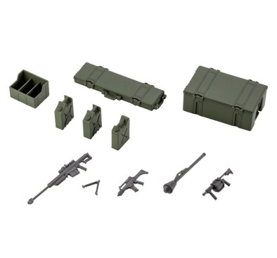 Hexa Gear Plastic Model Kit 1/24 Army Container Set 8 cm