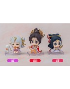Honor of Kings Qset Action Figures Chang'e, Wu Zetian & Diaochan 6 cm