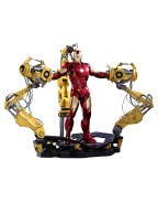 Iron Man 2 Diecast Movie Masterpiece Action Figure 1/6 Iron Man Mark IV & Suit-up Gantry 32 cm