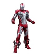 Iron Man 2 Movie Masterpiece Diecast Action Figure 1/6 Iron Man Mark V 32 cm