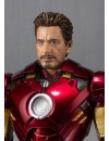 Iron Man 2 S.H. Figuarts Action Figure Iron Man Mark IV & Hall of Armor Set Tamashii Web EX 14 cm