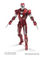 Iron Man 3 Diecast Action Figure 1/12 Mark 33 Silver Centurion 20 cm