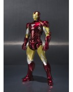 Iron Man S.H. Figuarts Action Figure Iron Man Mark VI & Hall of Armor Set 15 cm