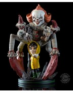 It 2017 Q-Fig Max Elite Figure Pennywise We All Float 19 cm