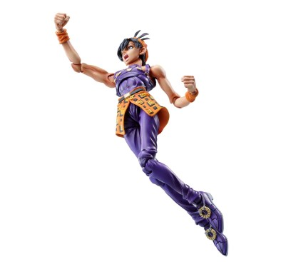 JoJo's Bizarre Adventure Part 5: Golden Wind Action Figure Chozokado (Narancia Ghirga & As) 15 cm