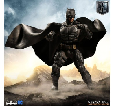 Justice League Action Figure 1/12 Tactical Suit Batman 16 cm