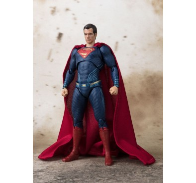 Justice League S.H. Figuarts Action Figure Superman Tamashii Web Exclusive 15 cm