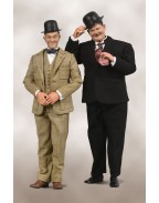 Laurel & Hardy Action Figure 2-Pack 1/6 Classic Suits Limited Edition 30-33 cm