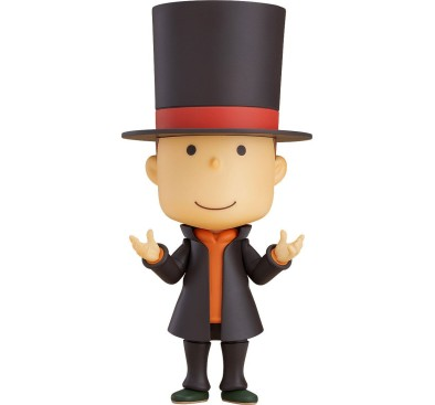 Layton Mystery Detective Agency Kat's Mystery Solving Files Nendoroid Action Figure Professor Layton