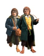 Lord of the Rings Action Figure 2-Pack 1/6 Merry & Pippin 20 cm