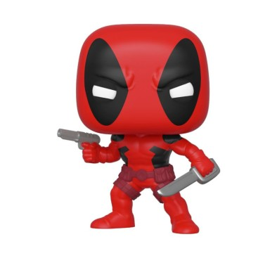 Marvel 80th POP! Marvel Vinyl Figure Deadpool (First Appearance) 9 cm