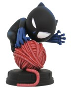 Marvel Animated Statue Black Panther 10 cm