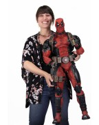 Marvel Comics Action Figure 1/2 Deadpool 91 cm