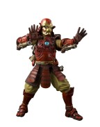 Marvel Comics Meisho Manga Realization Action Figure Samurai Iron Man Mark III 18 cm