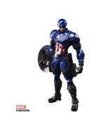 Marvel Universe Bring Arts Action Figure Captain America by Tetsuya Nomura 16 cm