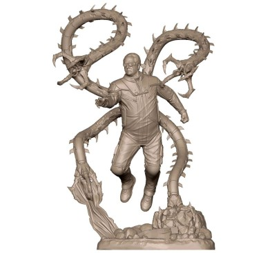 Marvel's Spider-Man Marvel Gamerverse PVC Statue 1/12 Doctor Octopus