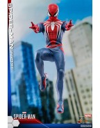 Marvel's Spider-Man Videogame Masterpiece Action Figure 1/6 Spider-Man Advanced Suit 30 cm