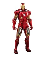 Marvel's The Avengers Diecast Movie Masterpiece Action Figure 1/6 Iron Man Mark VII 32 cm