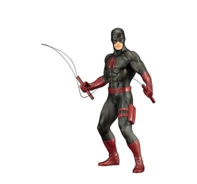 Marvel's The Defenders ARTFX+ PVC Statue 1/10 Daredevil Black Suit 19 cm