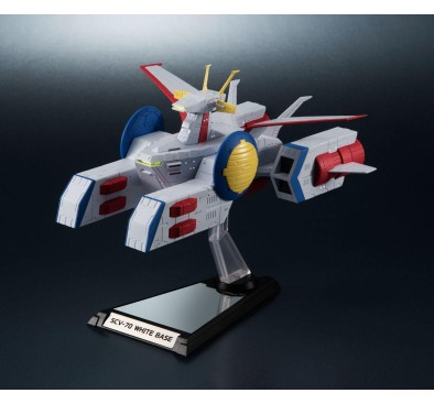 Mobile Suit Gundam Kikan-Taizen Display Model 1/1700 SCV-70 White Base 16 cm